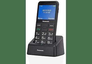 "Teléfono - Panasonic KX-TU155, Con Botones Físicos, 2.4"", TFT LCD, Bluetooth, Linterna LED, Negro"