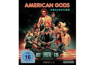 American Gods-Collection/Staffel 1-3/Blu-Ray [Blu-ray]