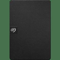 SEAGATE Expansion mit Software portable Festplatte, 4 TB HDD, 2,5 Zoll, extern, Schwarz