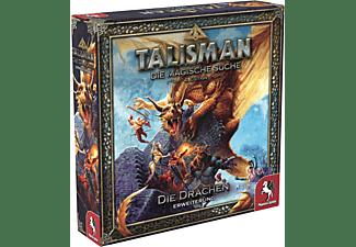 PEGASUS SPIELE Talisman: Die Drachen [Erweiterung] Brettspiel Mehrfarbig
