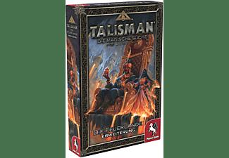 PEGASUS SPIELE Talisman: Die Feuerlande [Erweiterung] Brettspiel Mehrfarbig