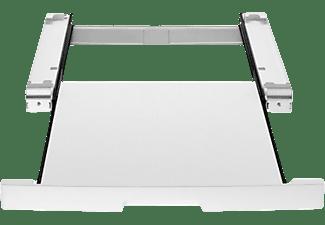 Accesorio lavadora - LG Electronics DSTWH, Kit Unión de Lavadora + Secadora, Gris
