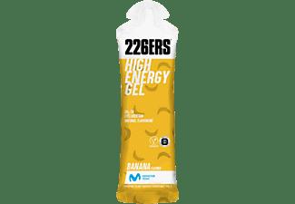 Gel energético - 226ERS High Energy Gel 76g Banana, Apto para Veganos