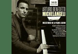 Arturo Benedetti Michelangeli - Milestones Of A Piano Legend [CD]