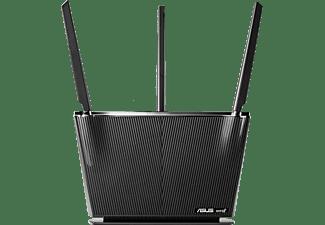 ASUS WLAN Router RT-AX68U AX2700, AiMesh, Dual-Band WiFi 6, Schwarz