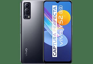 """Móvil - Vivo Y52 5G, Graphite Black, 128GB, 4GB RAM, 6.58"""" Full HD+, Dimensity 700, 5000 mAh, Android"""