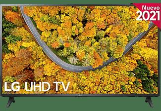 "TV LED 55"" - LG 55UP75006LF.AEU, UHD 4K, Quad Core 4K, webOS 6.0 Premium, Smart TV, AI ThinQ, Negro Cerámico"