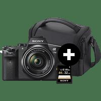 SONY Alpha 7 M2 Kit (ILCE-7M2K) Systemkamera mit Objektiv 28-70 mm, 7,6 cm Display, WLAN