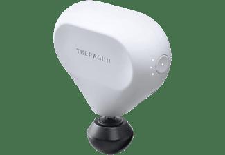 Masajeador - Therabody Theragun Mini, 150 min, 3 Velocidades, Motor Qx35, Tecnología QuietForce, Blanco