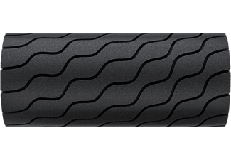 Rodillo de espuma - Therabody Theragun Wave Roller, 3 h, Bluetooth, 30 cm, 5 Velocidades, Negro