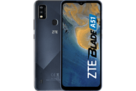 "Móvil - ZTE Blade A51, Azul, 32 GB, 2 GB RAM, 6.52"" HD+, SC9863A Octa-core, 3200 mAh, Android 11 Go"