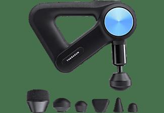 Masajeador - Therabody Theragun Pro, Bluetooth, 6 accesorios, Tecnología QuietForce, Pantalla OLED, Negro