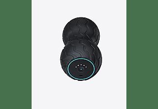 Masajeador - Therabody Wave Duo, Para los músculos, Bluetooth, 5 frecuencias de vibración, Silencioso, Negro