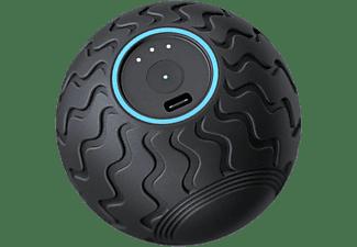 Masajeador - Therabody Wave Solo, Para los músculos, Bluetooth, 3 frecuencias de vibración, Silencioso, Negro
