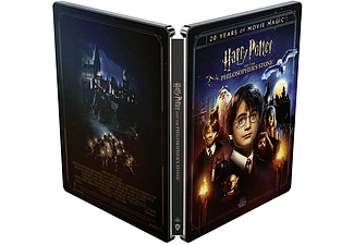 Harry Potter Y La Piedra Filosofal + Magical Movie Mode (Ed. Steelbook) - UHD 4K + 2 Blu-ray