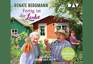 Renate Bergmann - Fertig ist die Laube. Die Online-Omi gärtnert  - (CD)