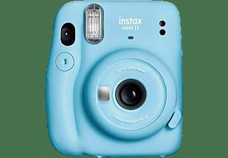 Cámara instantánea - Fujifilm Instax Mini 11, 62 x 46 mm, Flash, Azul