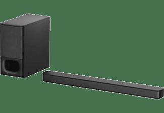 Barra de sonido - Sony HT-S350, 2.1 canales, Con subwoofer inalámbrico, Bluetooth, Negro