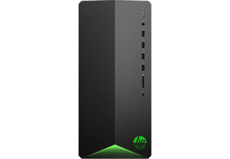 HP Gaming PC Pavilion TG01-2901ng, R7-5700G, 16GB RAM, 1TB SSD, RTX 3060Ti, Schwarz