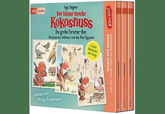 Ingo Siegner - Alles klar! Der kleine Drache Kokosnuss - Die große Forscher-Box  - (CD)