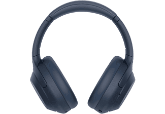 SONY WH-1000XM4 Noise Cancelling, Over-ear Kopfhörer Bluetooth Blau