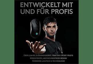 LOGITECH Gaming Maus G Pro Wireless, HERO 25600 DPI Sensor, Schwarz