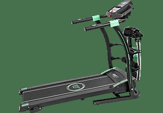 Cinta de correr - Cecotec RunnerFit Sprint Vibrator, 12 programas, 5 velocidades, 3 niveles, 14 km/h, Negro