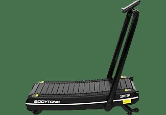 Cinta de correr - BodyTone Zroth, 100% plegable, Velocidad ilimitada, Ruedas de transporte, Negro