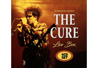 The Cure - Live Box-The Broadcast Archives (4-CD-Set)  - (CD)