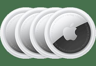 Apple AirTag MX532ZY/A, Localizador, Paquete de 4 unidades, Bluetooth, Chip U1, NFC, Privaciad de serie, Plata