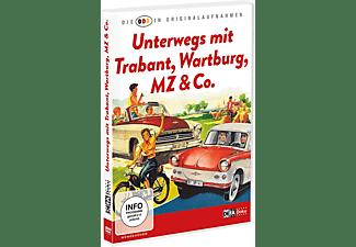 Die DDR in Originalaufnahmen - Trabant, Wartburg, MZ & Co. DVD
