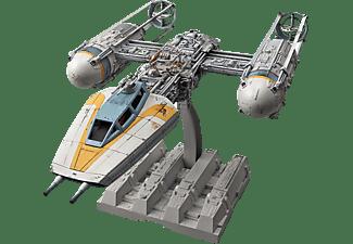 REVELL BANDAI Y-wing Starfighter Modellbausatz, Grau