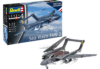 REVELL Model Set Sea Vixen FAW 2 Modellbausatz, Mehrfarbig