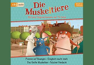 Ute Krause - Die Muskeltiere: Hörspiel zur TV-Serie 01  - (CD)