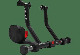 Rodillo de entrenamiento - Zycle Smart ZPro, Para bicicleta, Sistema de resistencia magnética, Negro