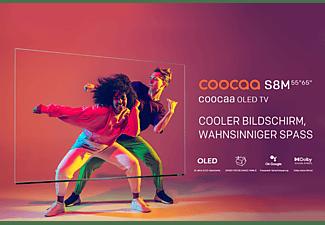 COOCAA 55S8M OLED TV (Flat, 55 Zoll / 139 cm, UHD 4K, SMART TV, Android 10.0)