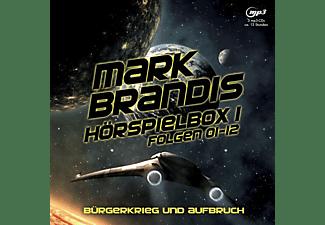 Mark Brandis - Hörspielbox 1-Bürgerkrieg Und Aufbruch  - (MP3-CD)