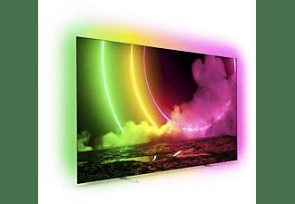 PHILIPS 48OLED806 OLED TV (Flat, 48 Zoll / 121 cm, OLED 4K, SMART TV, Ambilight, Android TV)