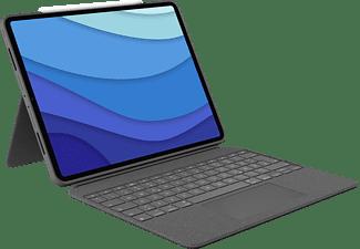 "LOGITECH Combo Touch für iPad Pro 12.9"" (5. Generation) Tastatur-Case Oxford Grey"