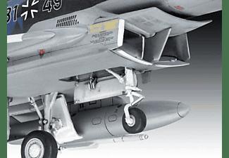 "REVELL Model Set Eurofighter ""Luftwaffe 2020 Quadriga  Maßstab: 1:72 Modellbausatz, Blau/Grau"