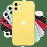 "Apple iPhone 11, Amarillo, 64 GB, 6.1"" Liquid Retina HD, Chip A13 Bionic, iOS"