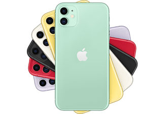 "Apple iPhone 11, Verde, 64 GB, 6.1"" Liquid Retina HD, Chip A13 Bionic, iOS"