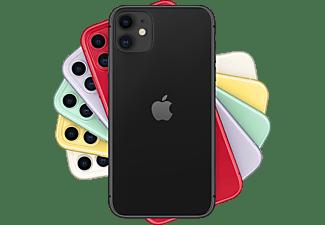 "Apple iPhone 11, Negro, 128 GB, 6.1"" Liquid Retina HD, Chip A13 Bionic, iOS"