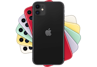 "Apple iPhone 11, Negro, 256 GB, 4 GB RAM, 6.1"" Liquid Retina HD, Chip A13 Bionic, iOS"