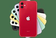 "Apple iPhone 11, Rojo, 256 GB, 4 GB RAM, 6.1"" Liquid Retina HD, Chip A13 Bionic, iOS, (PRODUCT)RED™"