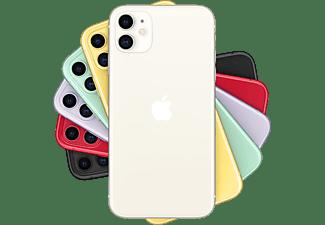 "Apple iPhone 11, Blanco, 256 GB, 4 GB RAM, 6.1"" Liquid Retina HD, Chip A13 Bionic, iOS"