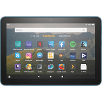 AMAZON Fire HD 8-Tablet, 8-Zoll-HD-Display, 32 GB, Dunkelblau mit Spezialangeboten, Tablet, 32 GB, 8 Zoll, Dunkelblau