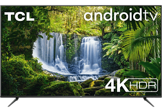 """TV LED 55"""" - TCL 55P5618, UHD, 4K HDR, Android TV, Micro Dimming, Dolby Audio, HDR10, Diseño sin marcos, Negro"""