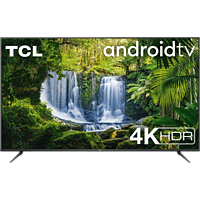 """TV 55"""" - TCL 55P618, 4K HDR,, UHD Android TV, Micro Dimming, Smart HDR, Dolby Audio, HDR10, diseño sin marcos"""