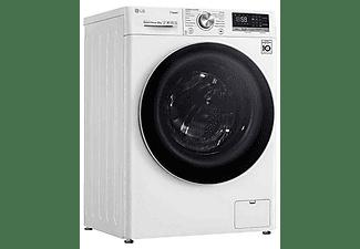 Lavadora carga frontal - LG F4WV5008S0W, 8 Kg, 1400rpm, 14 programas, Blanco